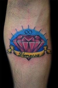 Diamante tatuaggio significato