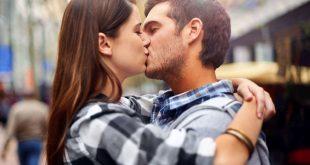 Coem si bacia con la lingua