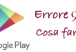 Errore 927 su Google Play store logo