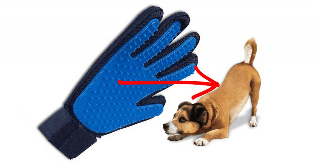 Guanto per cani prodotto benefici utilizzo screen