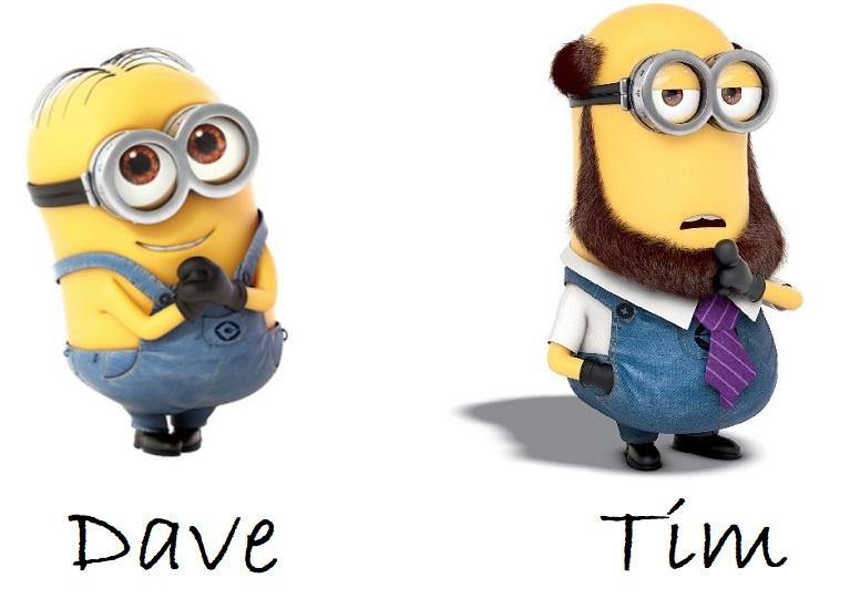 Minions Dave e Tim
