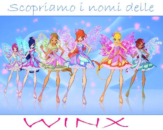 Nomi Winx fate personaggi