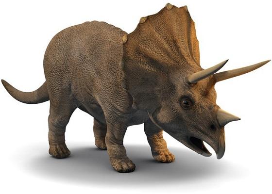 Nomi dinosauri Triceratopo