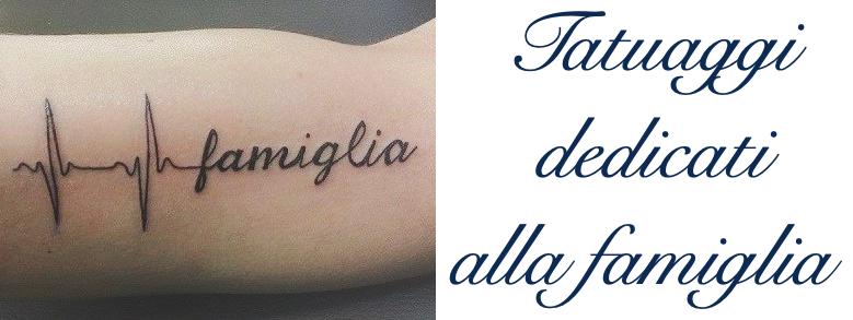 Tatuaggio Tattoo Famiglia Significato