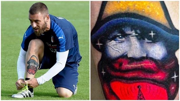 Tatuaggio De Rossi ultimo tattoo