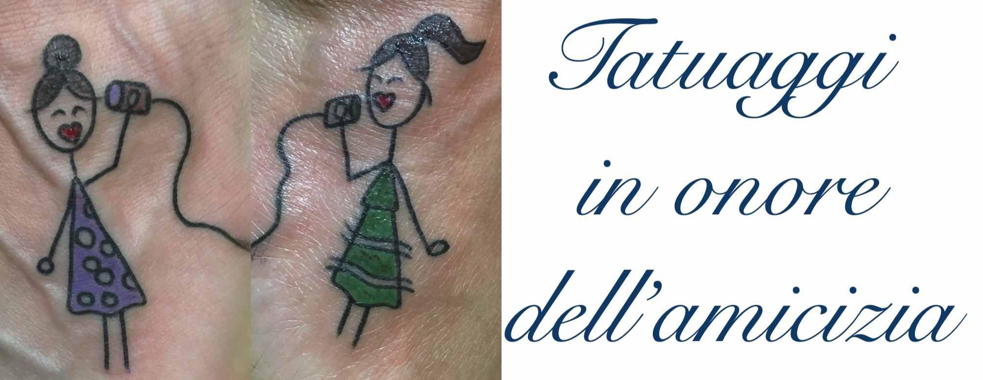 Tatuaggio Tattoo Amicizia Significato