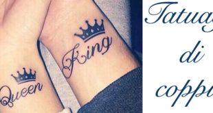 Tatuaggio Tattoo Coppia Significato