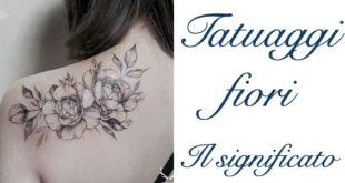 Tatuaggio Tattoo Fiori Significato