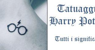Tatuaggio Tattoo Harry Potter significato