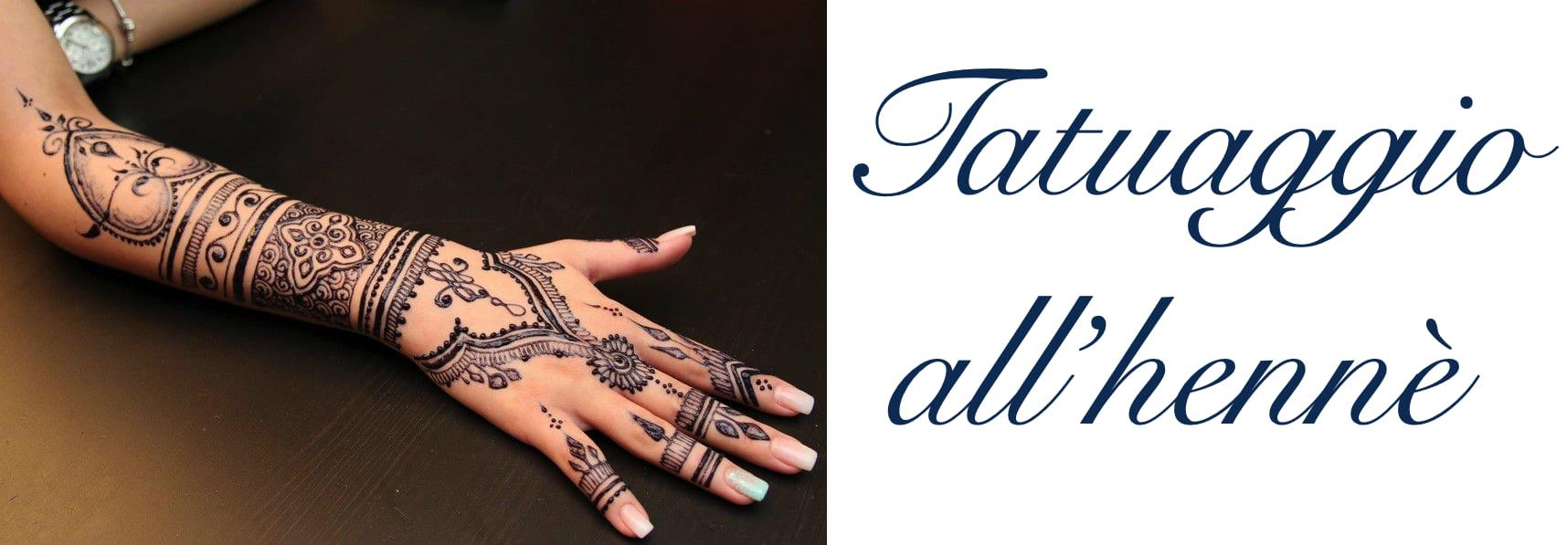 Tatuaggio Tattoo Henne Come Fare