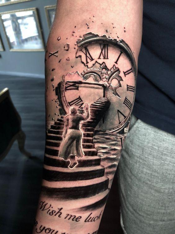 Tatuaggio Tattoo Orologio Persona Cara