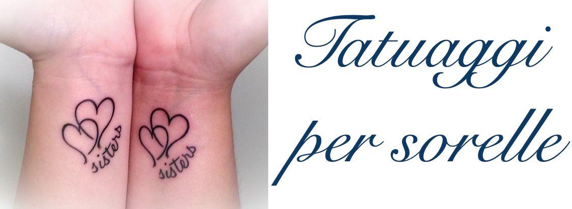 Tatuaggio Tattoo Sorelle Significato