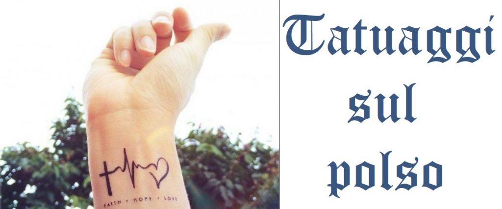 Tatuaggio tattoo polso