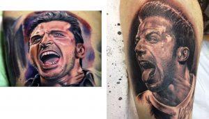 Tattoo Tatuaggio Juventus Buffon Del Piero