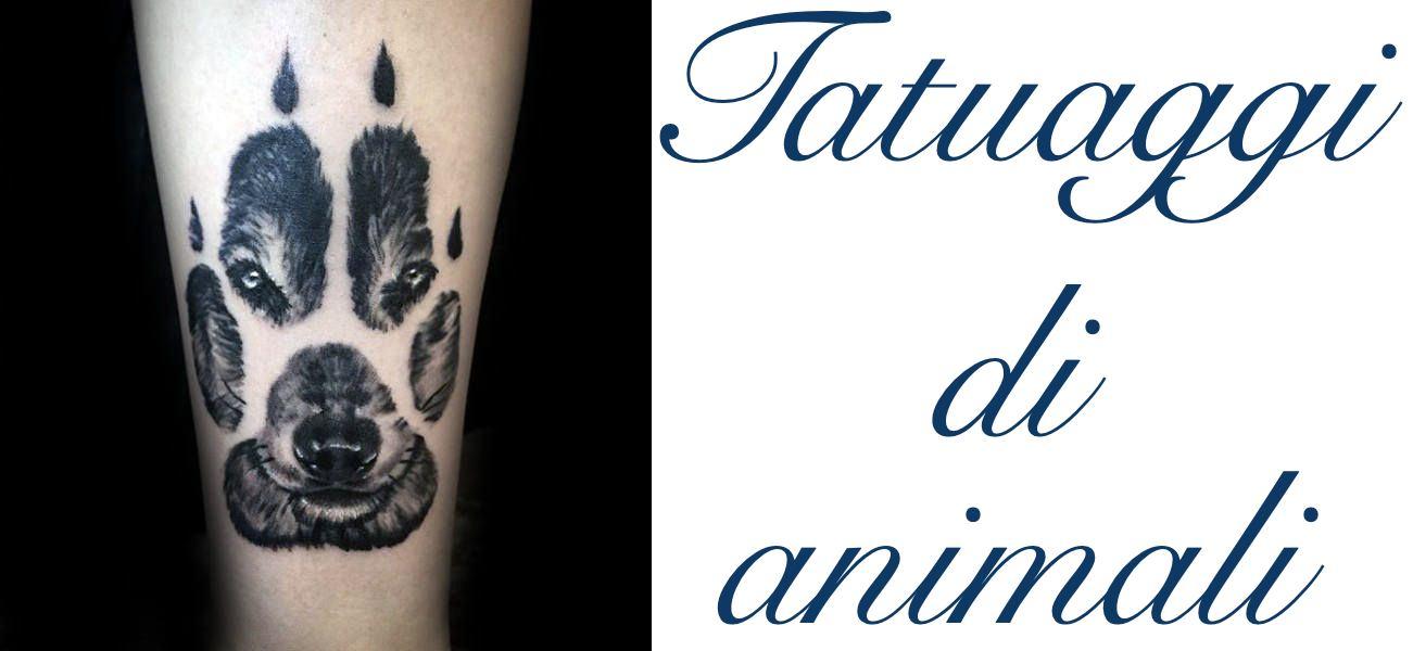 Tatuaggio Tattoo Animali Significato