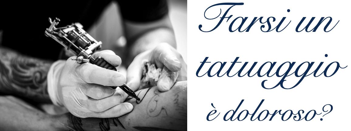 Tatuaggio Tattoo Dolore