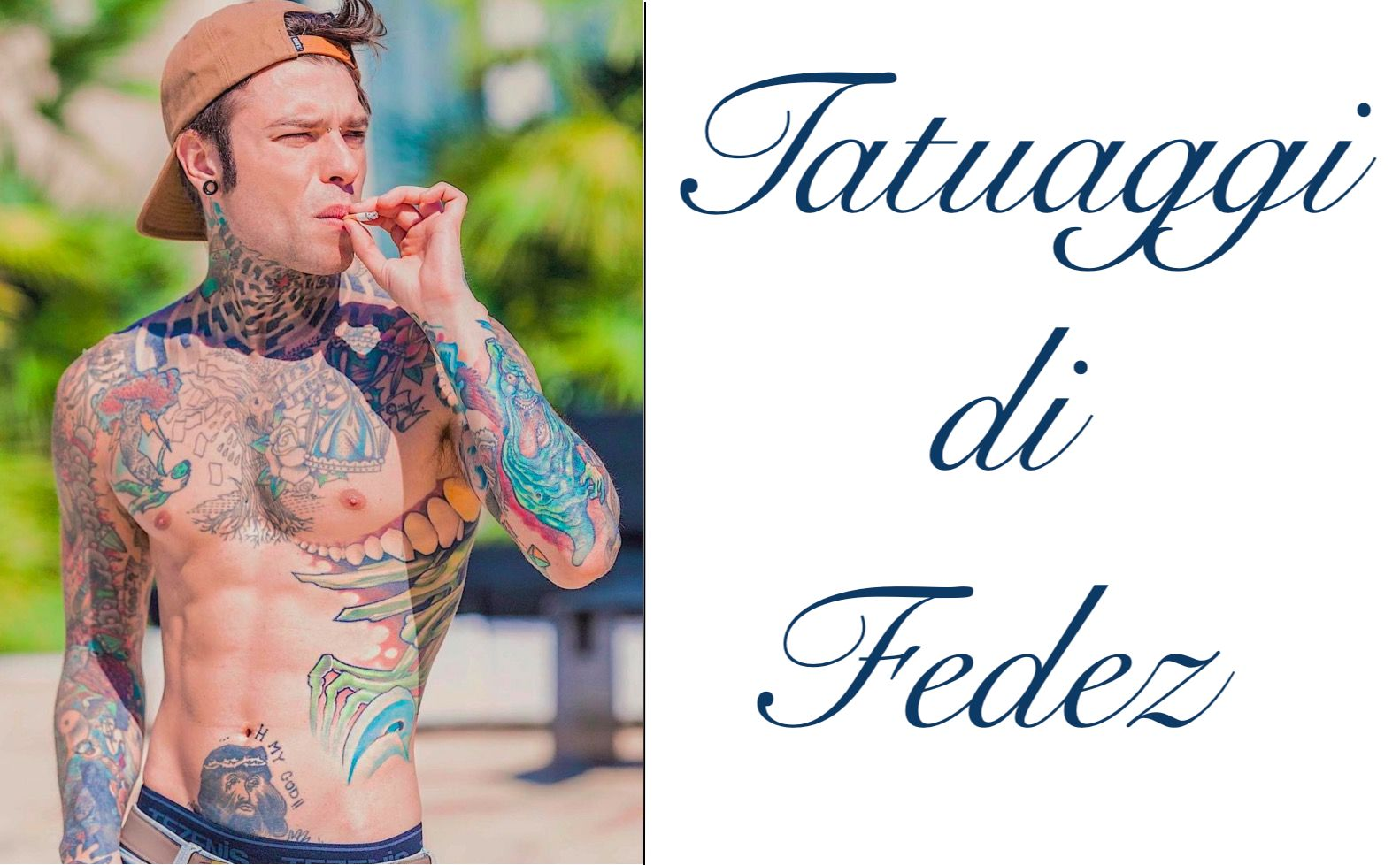 Tatuaggio Tattoo Fedez Significato