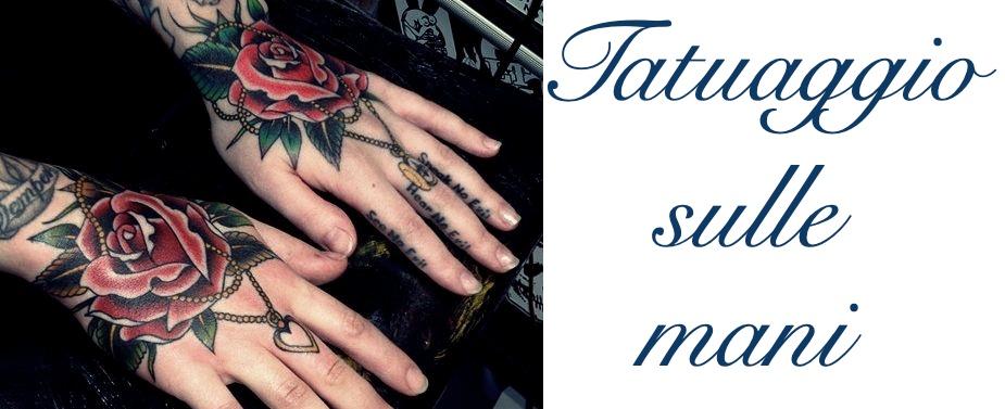 Tatuaggio Tattoo Mani Significato