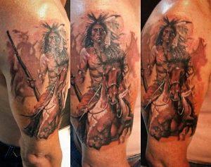 Tatuaggio indiano tattoo significato capo tribu