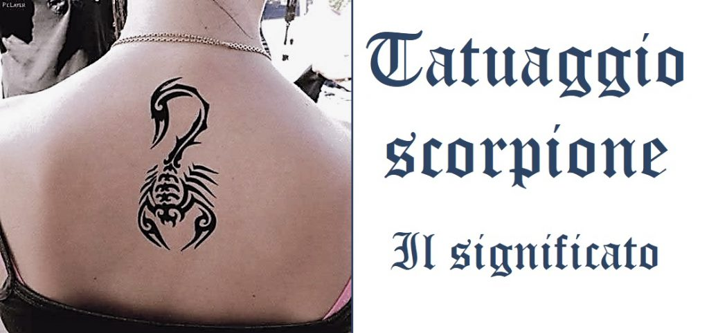 Tatuaggio scorpione tattoo significato