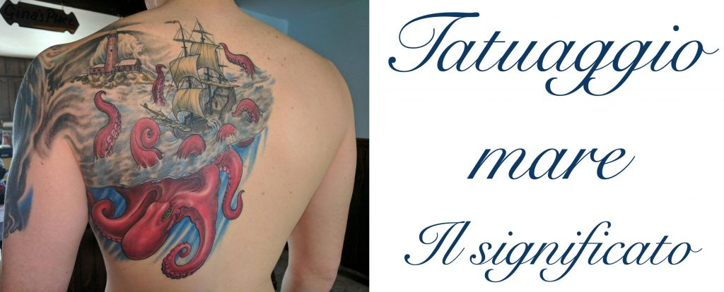 Tatuaggio tatto mare significato