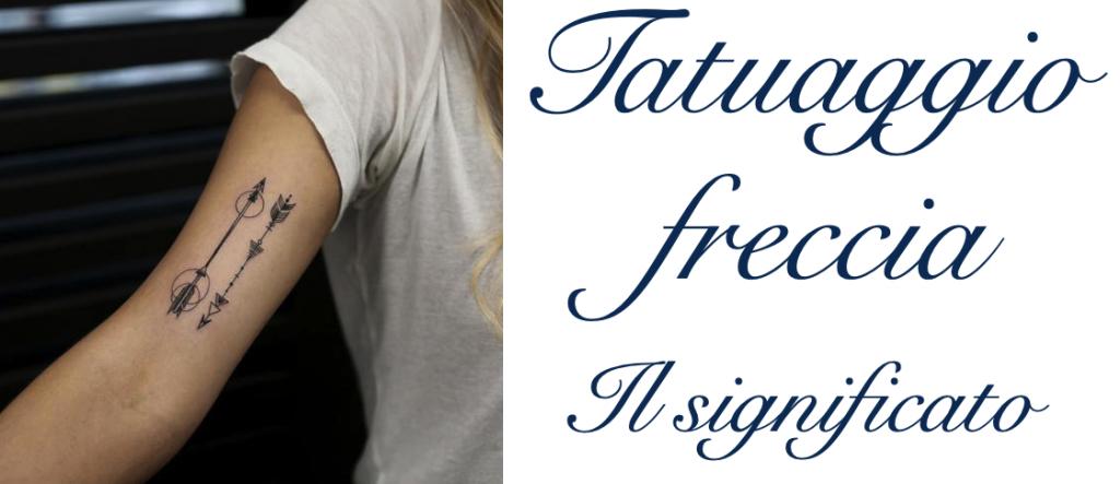 Tatuaggio tattoo freccia significato
