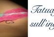Tatuaggio tattoo inguine significato