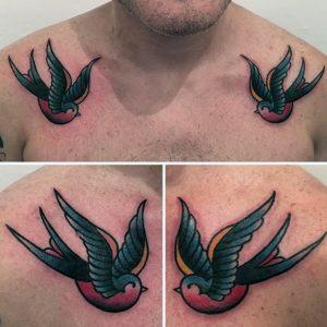 rondine old school tattoo