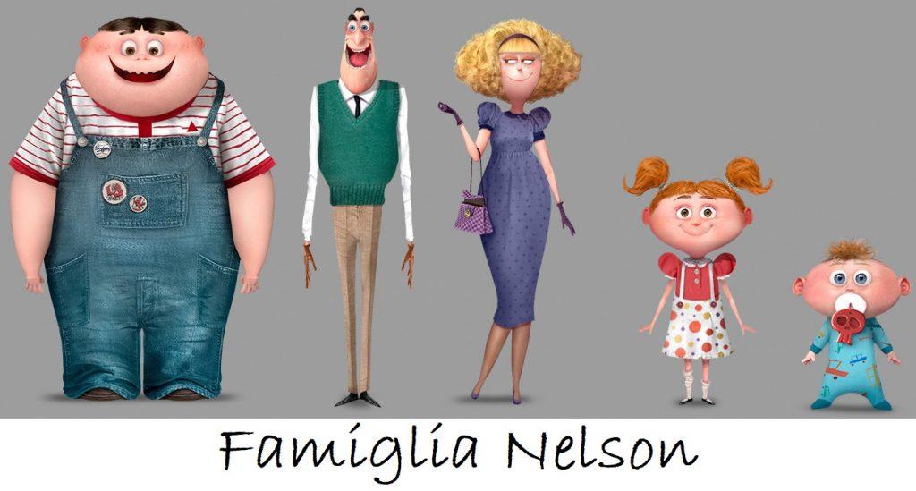 Minions famiglia Nelson