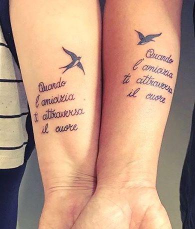 Tatuaggio Tattoo Amiche Canzone Laura Pausini