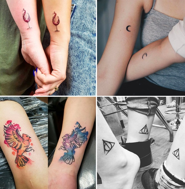 Tatuaggio Tattoo Amiche collage