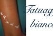 Tatuaggio Tattoo Bianco Significato