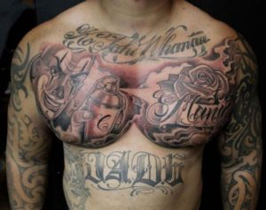 Tatuaggio Tattoo Chicano murales
