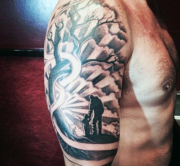 Tatuaggio Tattoo Figli Braccio