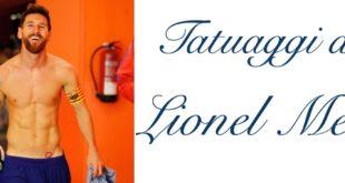 Tatuaggio Tattoo Lionel Messi Significato