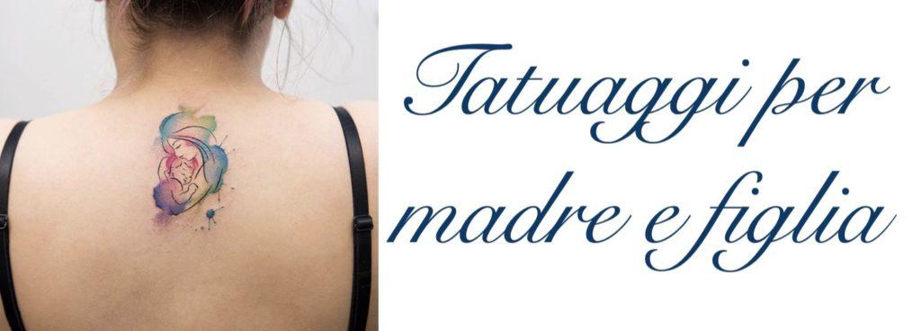 Tatuaggio Tattoo Madre Figlia Significato