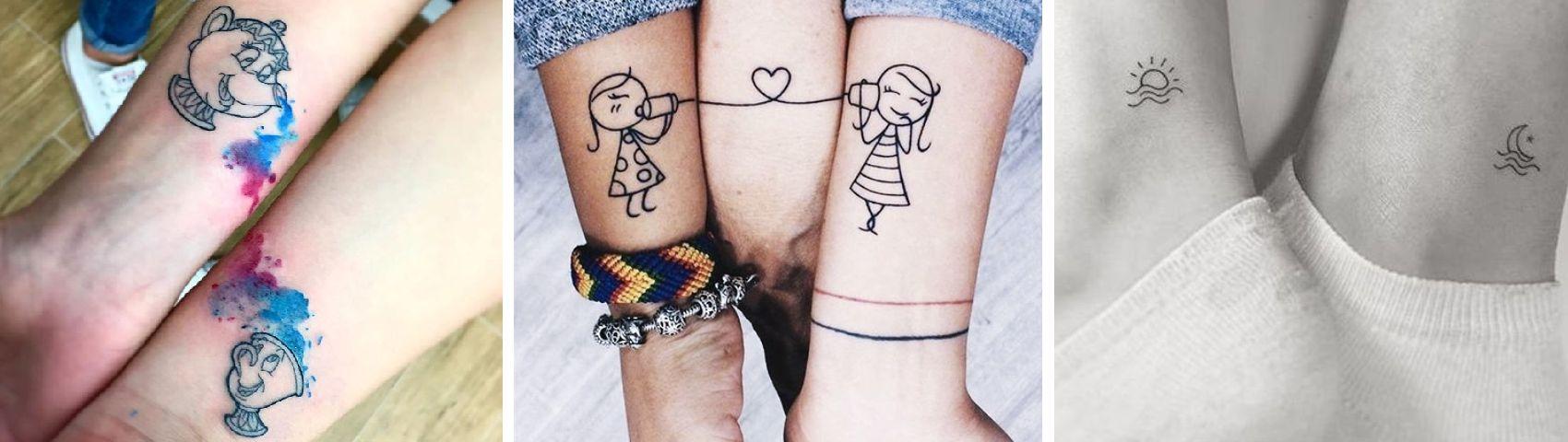 Tatuaggio Tattoo Madre Figlia Complementari 2