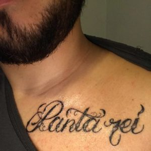 Tatuaggio Tattoo Panta Rei carattere forte