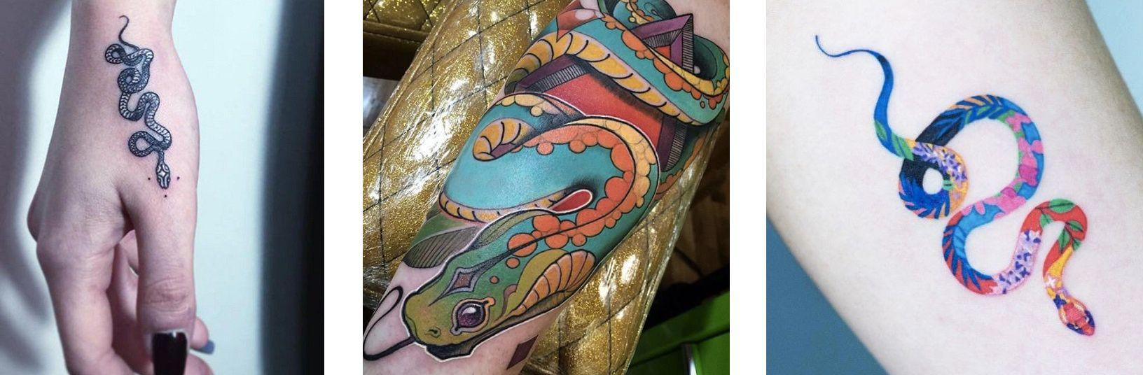 Tatuaggio Tattoo Serpente Stili