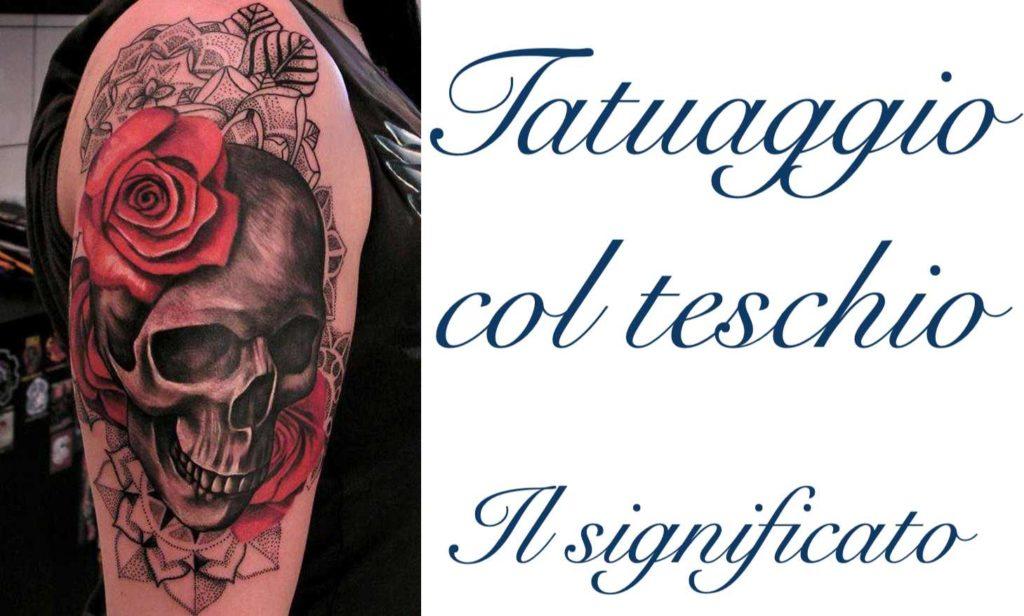 Tatuaggio Tattoo Teschio Significato