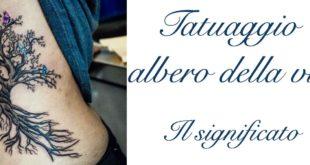 Tatuaggio Tattoo Albero della Vita Significato