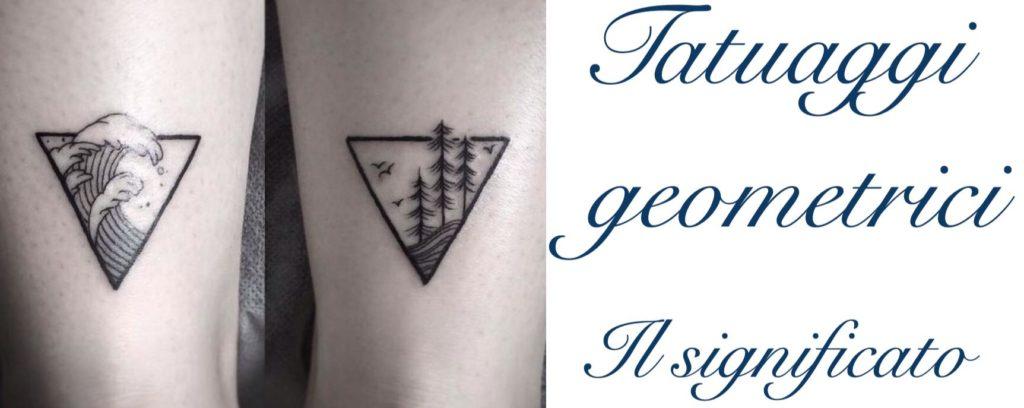 Tatuaggio Tattoo Figure Geometriche Significato