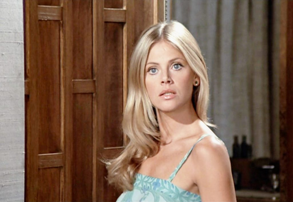 Nomi bond girl Britt Ekland