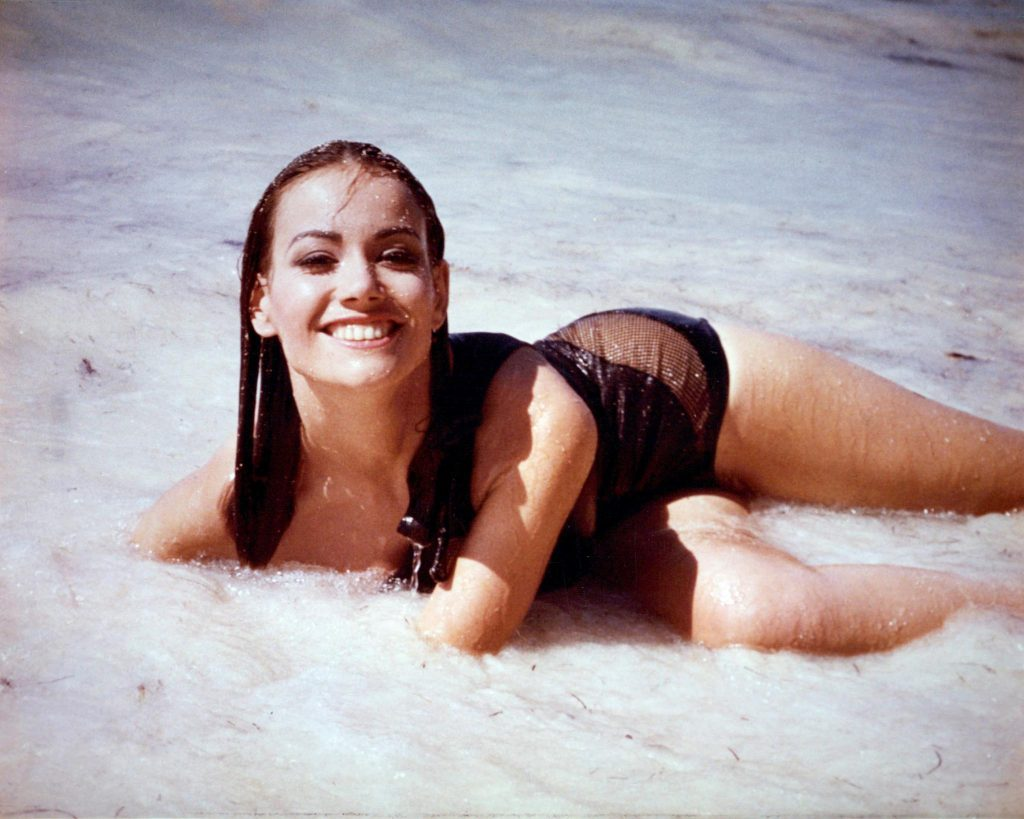 Nomi bond girl Claudine Auger