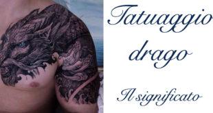 Tatuaggio Tattoo Drago Significato