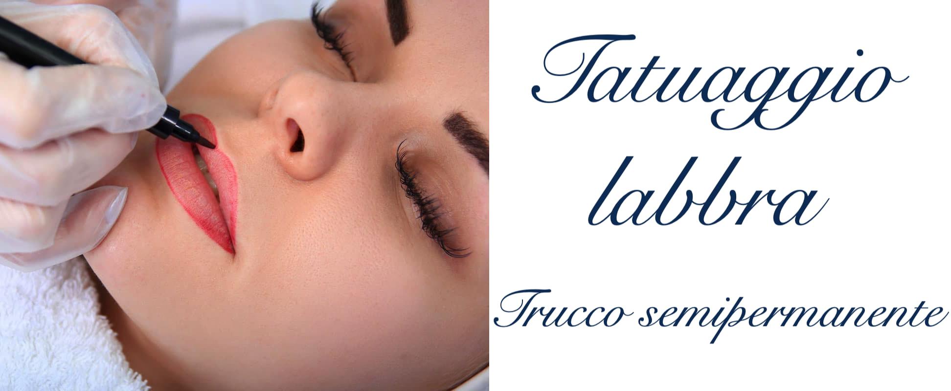 Tatuaggio Tattoo Labbra Trucco Semipermanente