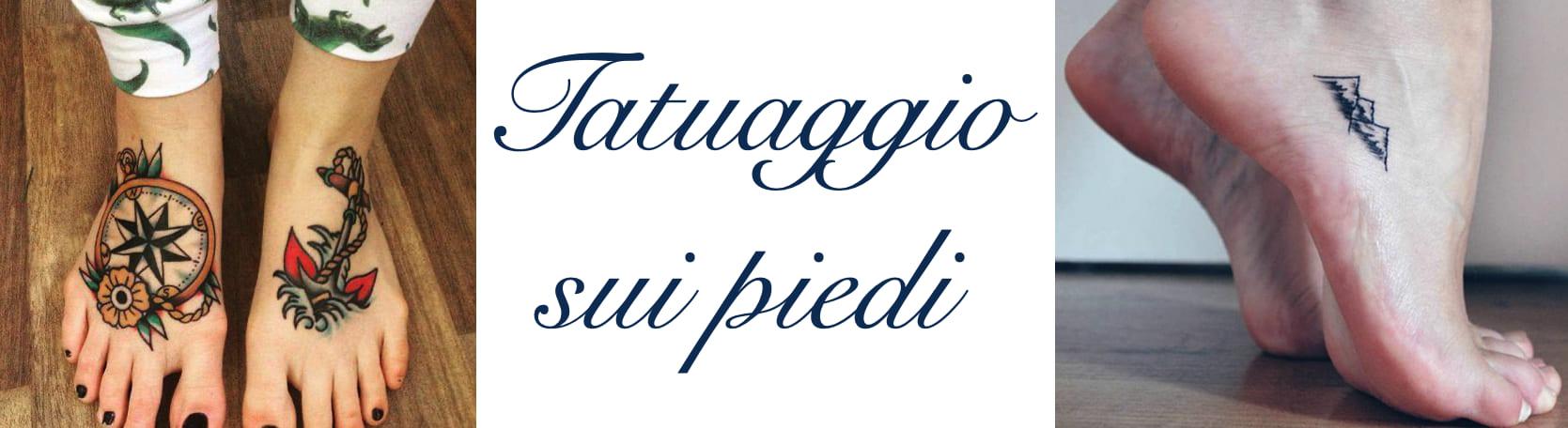 Tatuaggio Tattoo Piedi Significato