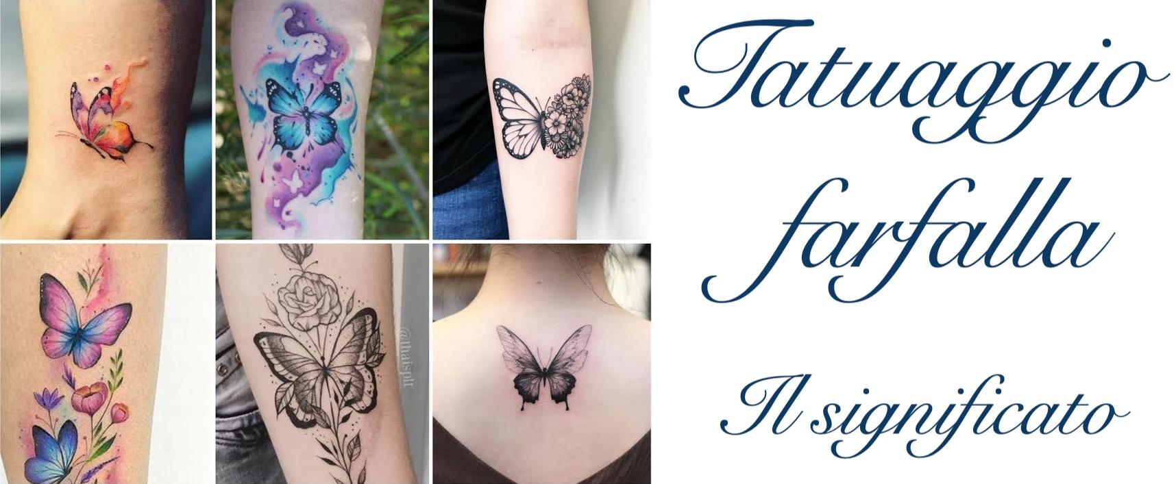 Tatuaggio Tattoo Farfalla Significato