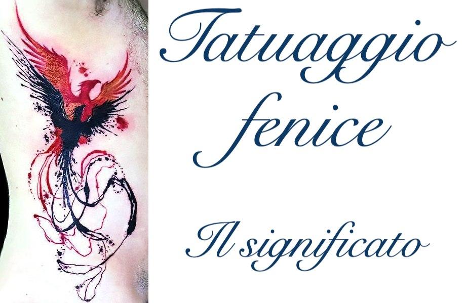 Tatuaggio Tattoo Fenice Cosa Significa