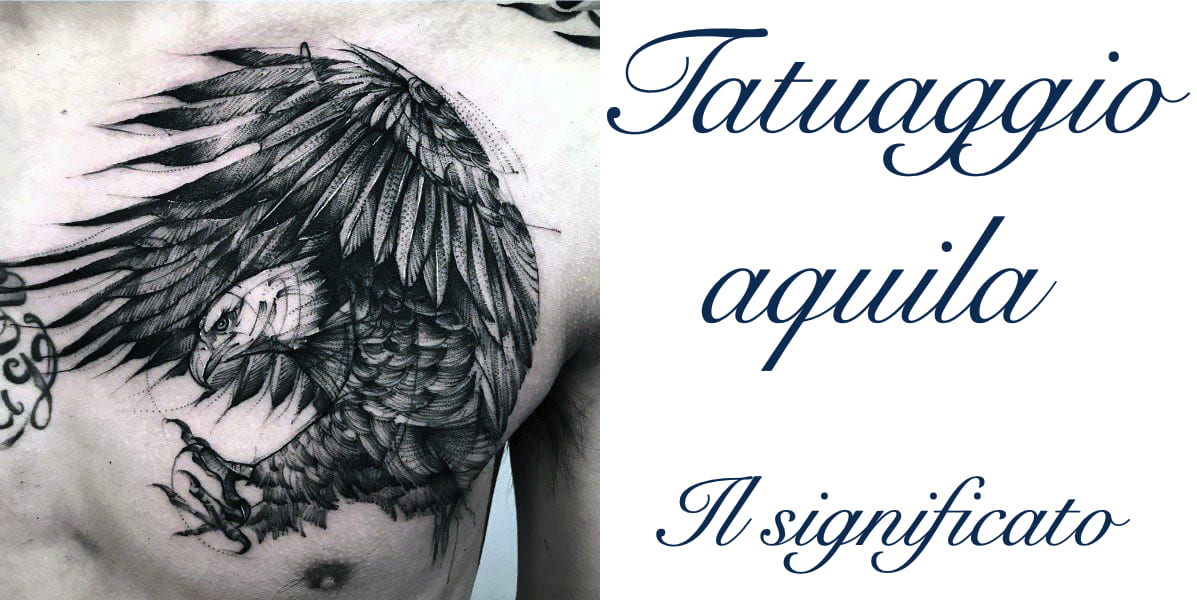 Tatuaggio Tattoo Aquila Significato